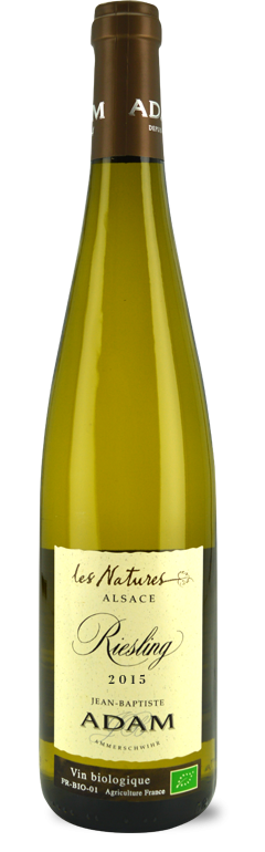 """Alsace Riesling """"Les Natures"""" 2015"""