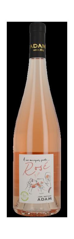 Vin d'Alsace Rosé - À vos marques, prêts... Rosé !