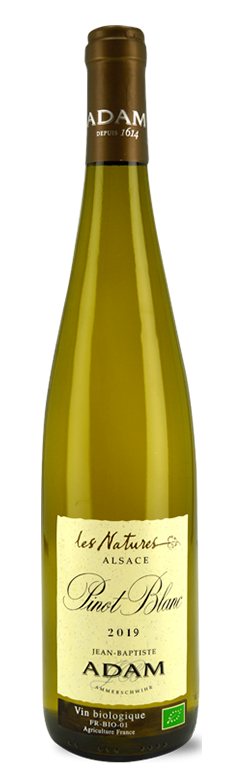 """Alsace Pinot Blanc """"Les Natures"""" 2019"""