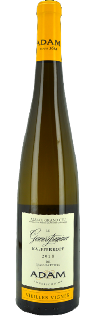 "Magnum - Alsace Grand Cru Le Gewurztraminer Kaefferkopf ""Vieilles Vignes"" 2018"