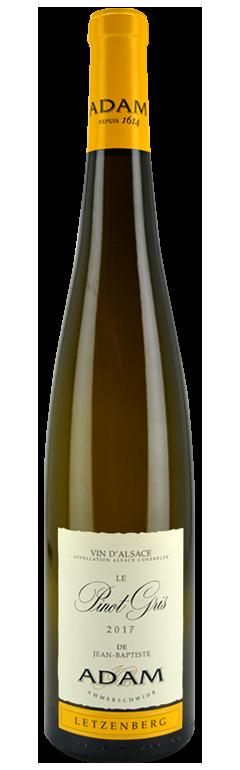 Alsace Le Pinot Gris Letzenberg 2017