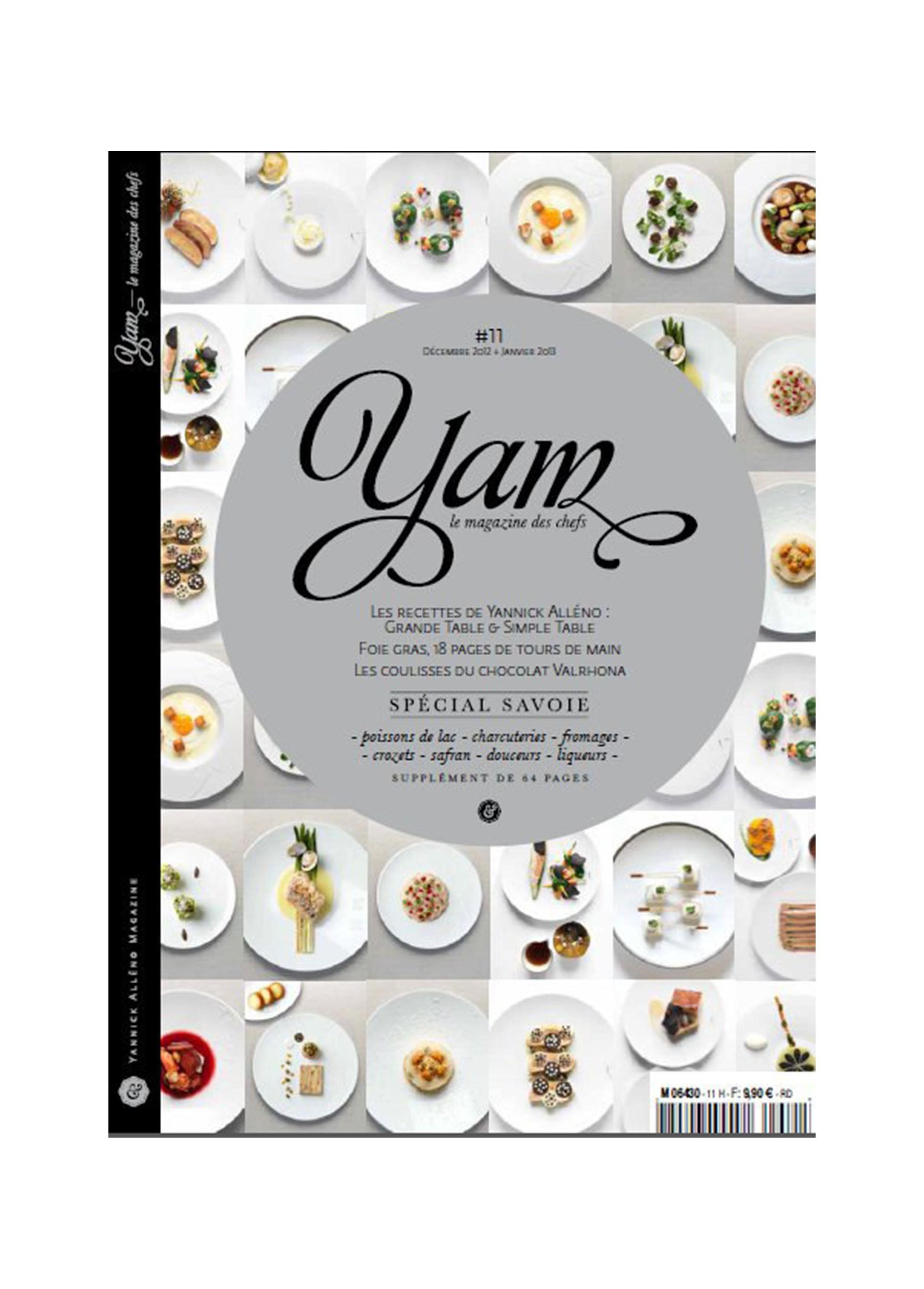 Parutions presse Magazine YAM