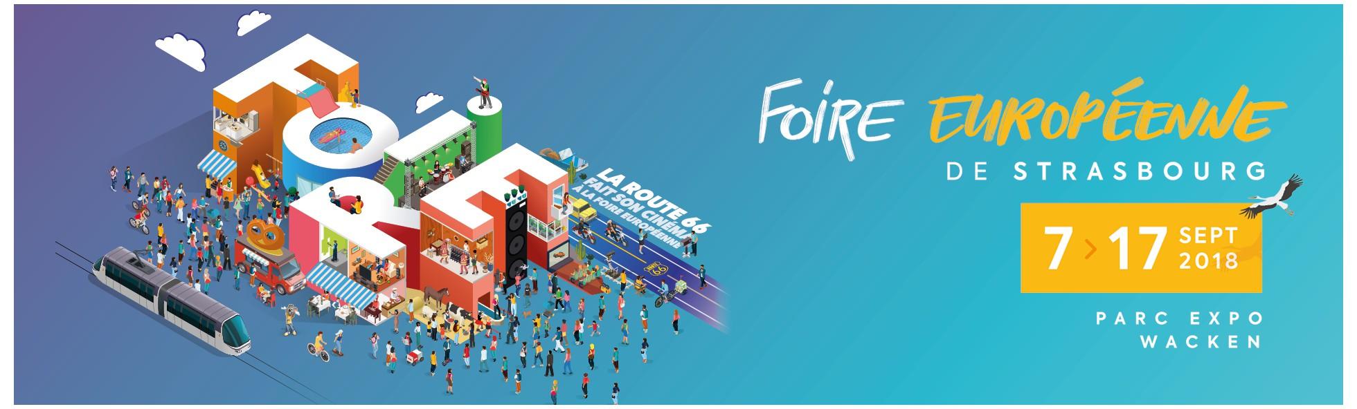 The European Fair Strasbourg 2018